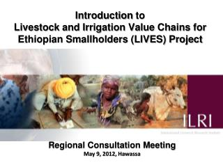 Regional Consultation Meeting May 9, 2012,  Hawassa