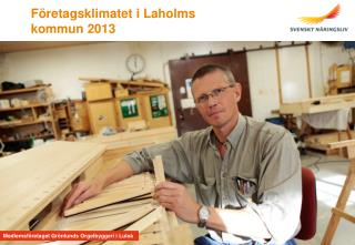 Företagsklimatet i Laholms kommun 2013