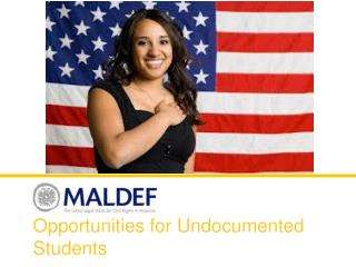 Opportunities for Undocumented Students