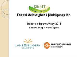 Digital delaktighet i Jönköpings län
