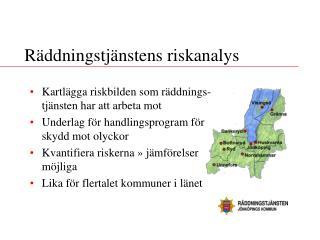 Räddningstjänstens riskanalys