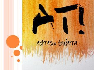 AT! ESPRESIO TAILERRAK