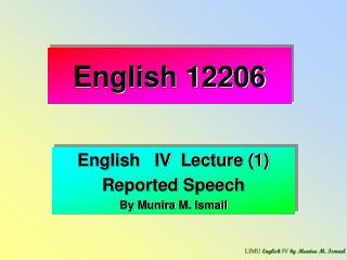 English 12206