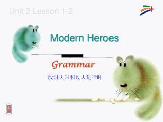 Unit 2 Lesson 1-2