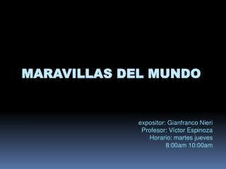MARAVILLAS DEL MUNDO