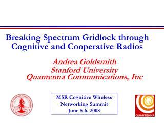 Breaking Spectrum Gridlock through Cognitive and Cooperative Radios