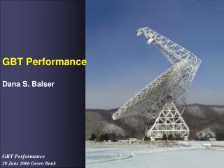 GBT Performance