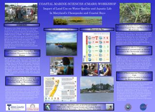 COASTAL MARINE SCIENCES (CMARS) WORKSHOP Impact of Land Use on Water Quality and Aquatic Life