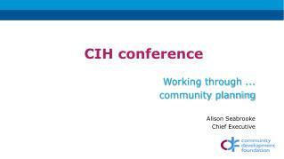 CIH conference