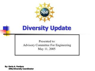 Diversity Update