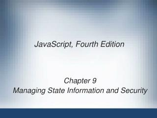 JavaScript, Fourth Edition