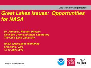 Great Lakes Issues:  Opportunities for NASA