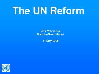 The UN Reform