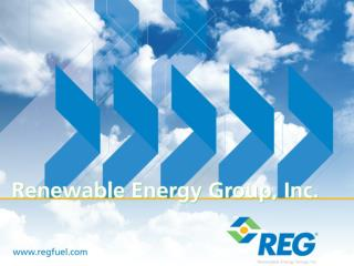 Gary Haer Vice President Sales and Marketing Renewable Energy Group