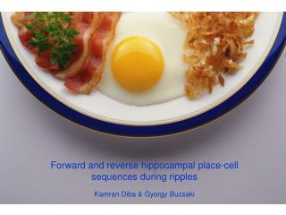 Forward and reverse hippocampal place-cell sequences during ripples Kamran Diba & Gyorgy Buzsaki