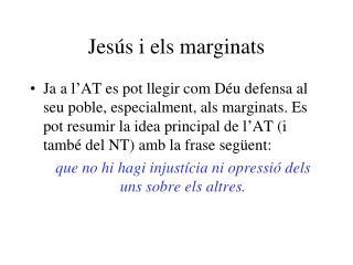 Jesús i els marginats