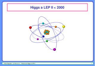 Higgs a LEP II < 2000