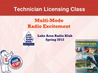 Technician Licensing Class