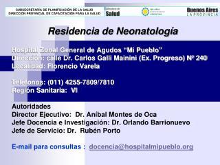 Residencia de Neonatología
