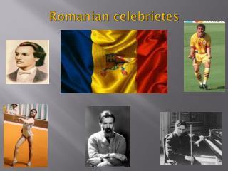 Romanian  celebrietes