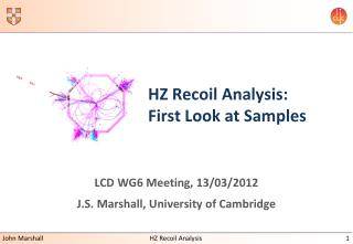 HZ Recoil Analysis: First Look at Samples