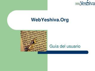 WebYeshiva.Org