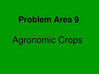 Problem Area 9