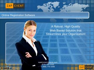 Online Registration Software