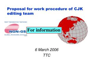 Proposal for work procedure of CJK editing team