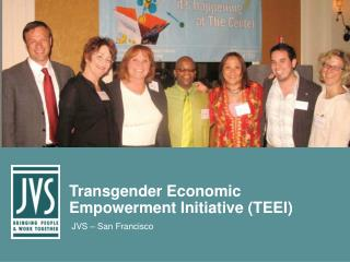 Transgender Economic Empowerment Initiative (TEEI)