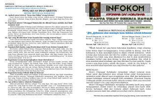 Edisi :  LIX/ 26 Mei 2013