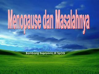 Bambang Supriyono,dr,SpOG