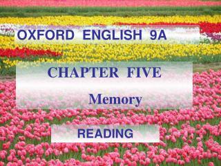 OXFORD  ENGLISH  9A