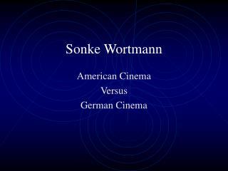 Sonke Wortmann