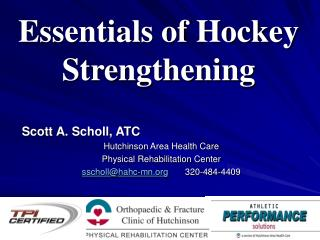 Essentials of Hockey Strengthening