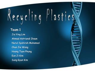 Recycling Plastics