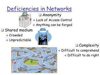 Deficiencies in Networks