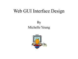 Web GUI Interface Design