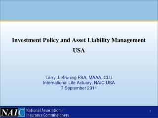 Actuarial Issues:  Pricing and  Risk Transfer Considerations