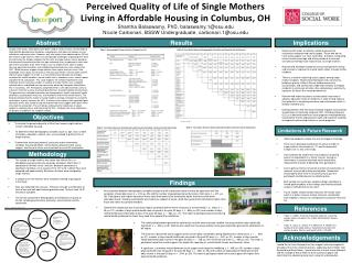 Perceived Quality of Life of Single Mothers