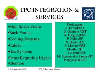 TPC INTEGRATION & SERVICES