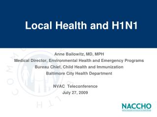 Local Health and H1N1
