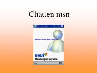 Chat ten  msn