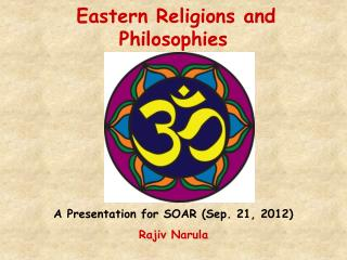 Eastern Religions and Philosophies