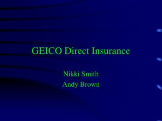 GEICO Direct Insurance
