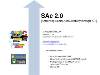 SAc  2.0 [Amplifying Social Accountability through ICT]