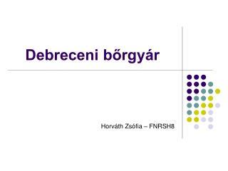 Debreceni bőrgyár