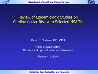 Review of Epidemiologic Studies on Cardiovascular Risk with Selected NSAIDs