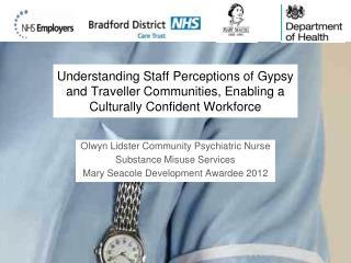 Olwyn Lidster Community Psychiatric Nurse Substance Misuse Services