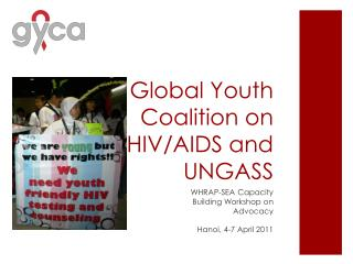 Global Youth Coalition on HIV/AIDS and UNGASS